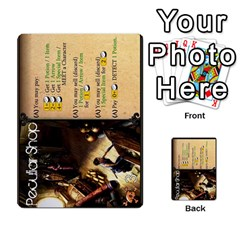 Dod 1 Parte By Jamonton   Multi Purpose Cards (rectangle)   9uowkjkdy0vx   Www Artscow Com Front 9