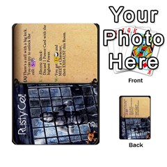 Dod 1 Parte By Jamonton   Multi Purpose Cards (rectangle)   9uowkjkdy0vx   Www Artscow Com Front 17