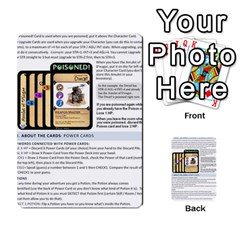 Dod 2 Parte By Jamonton   Multi Purpose Cards (rectangle)   W2p3pptvs9se   Www Artscow Com Back 51