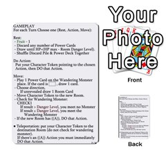 Dod 2 Parte By Jamonton   Multi Purpose Cards (rectangle)   W2p3pptvs9se   Www Artscow Com Back 53