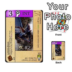 Dod 2 Parte By Jamonton   Multi Purpose Cards (rectangle)   W2p3pptvs9se   Www Artscow Com Front 15