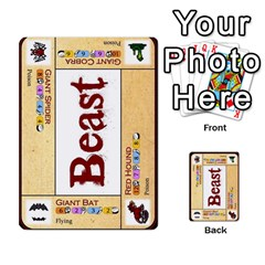Dod 2 Parte By Jamonton   Multi Purpose Cards (rectangle)   W2p3pptvs9se   Www Artscow Com Front 27