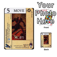 Dod 2 Parte By Jamonton   Multi Purpose Cards (rectangle)   W2p3pptvs9se   Www Artscow Com Front 30