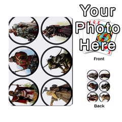Dod 2 Parte By Jamonton   Multi Purpose Cards (rectangle)   W2p3pptvs9se   Www Artscow Com Front 40