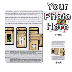 Dod 2 Parte By Jamonton   Multi Purpose Cards (rectangle)   W2p3pptvs9se   Www Artscow Com Back 50