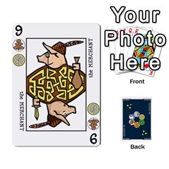 Decklet By Jamonton   Playing Cards 54 Designs   Q3awd2r445jm   Www Artscow Com Front - Heart4
