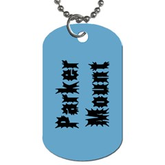 Parker s Dogtags By Jennifer Mount   Dog Tag (two Sides)   Vplilq810eqo   Www Artscow Com Back