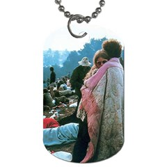 Woodstock Couple By Kasie   Dog Tag (two Sides)   3vtmekda5t13   Www Artscow Com Front