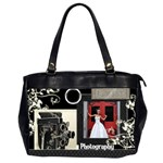 Camera Bag - Oversize Office Handbag (2 Sides)