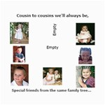 cousin collage - Collage 8  x 10