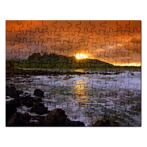 Sunset Puzzle By Erin Gaston   Jigsaw Puzzle (rectangular)   Mf72ylfc12ry   Www Artscow Com Front