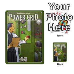 Baub s Power Grid Resource Allocation Deck By Bob Menzel   Playing Cards 54 Designs   Dx15224ynpfl   Www Artscow Com Back