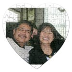 PHOTO PUZZLE - Jigsaw Puzzle (Heart)