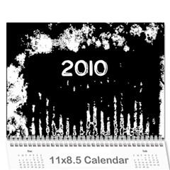 Calendar By Jessica   Wall Calendar 11  X 8 5  (12 Months)   4byx3l5jld9y   Www Artscow Com Cover