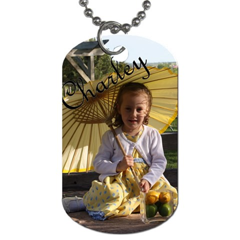 Charley s Dog Tag By Beth Barrett   Dog Tag (one Side)   8dw5hg3x1bo7   Www Artscow Com Front