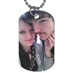 nicole - Dog Tag (One Side)