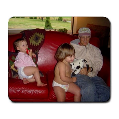 Father s Day Gift #1 For Papa  By Jennifer Fraunfelder   Collage Mousepad   U6ybfqiwsbep   Www Artscow Com 9.25 x7.75 Mousepad - 1