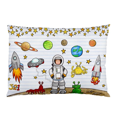 Pillow Case By Priscilla Rocha   Pillow Case   W1b9v6bqhdrk   Www Artscow Com 26.62 x18.9 Pillow Case