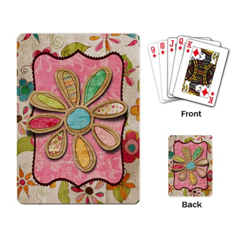 By Ashley   Playing Cards Single Design   Sx2ms1dl67nn   Www Artscow Com Back