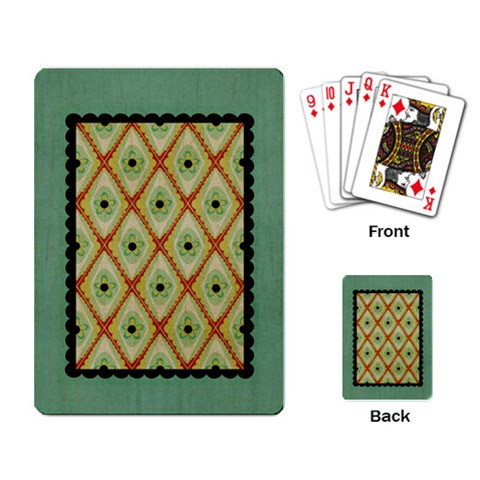 By Ashley   Playing Cards Single Design   Y73okpkfsbc4   Www Artscow Com Back