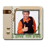 father day - Large Mousepad