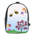 little bug - School Bag (Large)