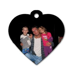 Free Dog Tag By Cari   Dog Tag Heart (two Sides)   9bn85nddplhl   Www Artscow Com Front