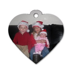 Free Dog Tag By Cari   Dog Tag Heart (two Sides)   9bn85nddplhl   Www Artscow Com Back