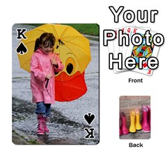 King Rainyday Playing Cards By Lily Hamilton   Playing Cards 54 Designs   Ac1wyo1wzr1r   Www Artscow Com Front - SpadeK