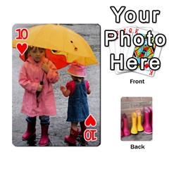 Rainyday Playing Cards By Lily Hamilton   Playing Cards 54 Designs   Ac1wyo1wzr1r   Www Artscow Com Front - Heart10