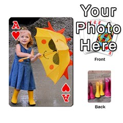 Ace Rainyday Playing Cards By Lily Hamilton   Playing Cards 54 Designs   Ac1wyo1wzr1r   Www Artscow Com Front - HeartA