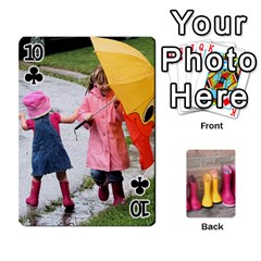 Rainyday Playing Cards By Lily Hamilton   Playing Cards 54 Designs   Ac1wyo1wzr1r   Www Artscow Com Front - Club10