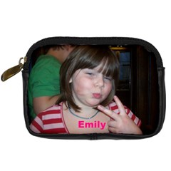 Emily Camera By Coon   Digital Camera Leather Case   Lywwhs19n70m   Www Artscow Com Front