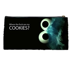 Cookie Monster By Hollie   Pencil Case   W0wo2ou1bzpz   Www Artscow Com Back