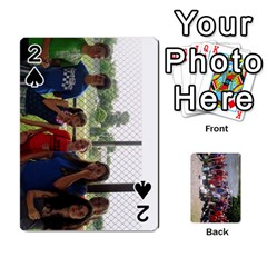 Camp Playing Cards By Megan   Playing Cards 54 Designs   85t52d7zgu7r   Www Artscow Com Front - Spade2