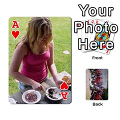 Ace Camp Playing Cards By Megan   Playing Cards 54 Designs   85t52d7zgu7r   Www Artscow Com Front - HeartA