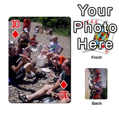 Camp Playing Cards By Megan   Playing Cards 54 Designs   85t52d7zgu7r   Www Artscow Com Front - Diamond10