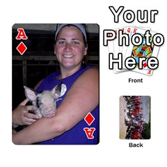 Ace Camp Playing Cards By Megan   Playing Cards 54 Designs   85t52d7zgu7r   Www Artscow Com Front - DiamondA