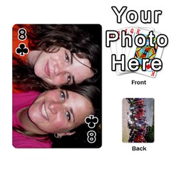 Camp Playing Cards By Megan   Playing Cards 54 Designs   85t52d7zgu7r   Www Artscow Com Front - Club8