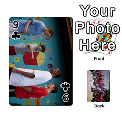Camp Playing Cards By Megan   Playing Cards 54 Designs   85t52d7zgu7r   Www Artscow Com Front - Club9