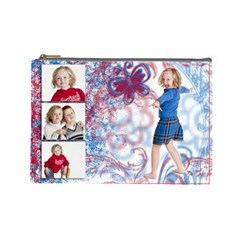 For Grandma!  By Jessica Sell   Cosmetic Bag (large)   B7mkyt85xo7n   Www Artscow Com Front