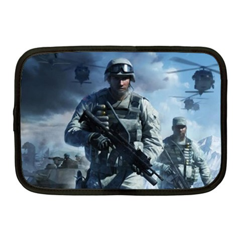 Bad Company 2 By Alexander Stephens   Netbook Case (medium)   Xo3ziqzaf8ou   Www Artscow Com Front