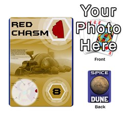 Queen Dune Spice Set1 2sets By Gabriel   Playing Cards 54 Designs   Bn2n7q0bbx2z   Www Artscow Com Front - SpadeQ