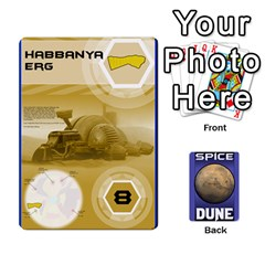 Dune Spice Set1 2sets By Gabriel   Playing Cards 54 Designs   Bn2n7q0bbx2z   Www Artscow Com Front - Diamond5