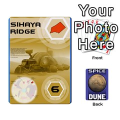 Dune Spice Set1 2sets By Gabriel   Playing Cards 54 Designs   Bn2n7q0bbx2z   Www Artscow Com Front - Spade6