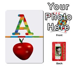 New Flash Cards By Brookieadkins Yahoo Com   Playing Cards 54 Designs   Tcmyo8zjddqm   Www Artscow Com Front - Spade2