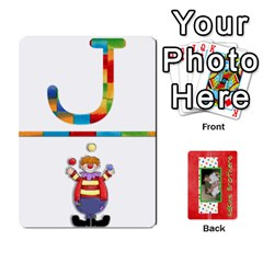 Jack New Flash Cards By Brookieadkins Yahoo Com   Playing Cards 54 Designs   Tcmyo8zjddqm   Www Artscow Com Front - DiamondJ