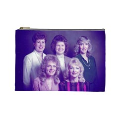Sisters By Joan   Cosmetic Bag (large)   Iftbhzln72x0   Www Artscow Com Front