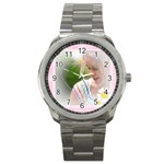 mother gift - Sport Metal Watch