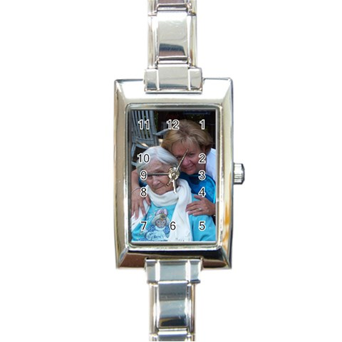 Designer Watch By Judy   Rectangle Italian Charm Watch   Epf6isk2v68l   Www Artscow Com Front
